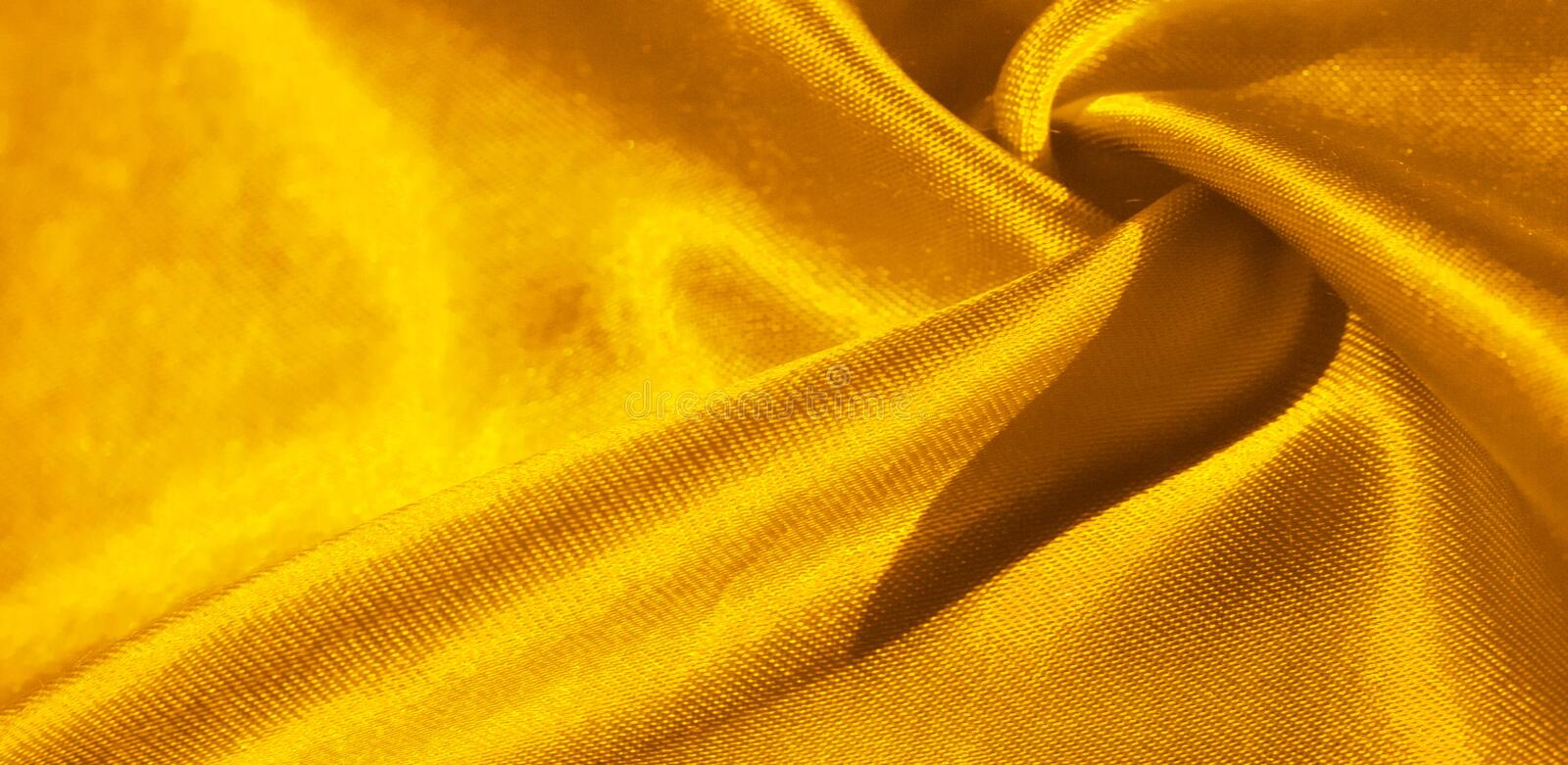 Texture, background, pattern, silk fabric in yellow. This adorable, soft and shiny fabric has a smooth mink surface, perfect for. Creating your projects royalty free stock images