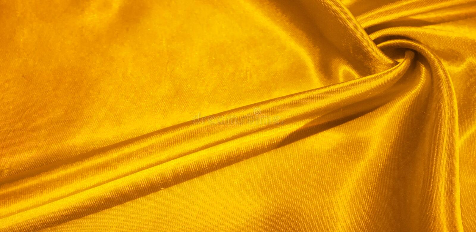 Texture, background, pattern, silk fabric in yellow. This adorable, soft and shiny fabric has a smooth mink surface, perfect for. Creating your projects vector illustration