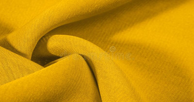 Texture, background, The silk fabric is yellow. This yellow stamping silk crepe de China is here to charge your design! Live combi. Nation of floral and paisley stock photos