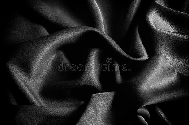 Texture, background. template. The school cloth is black, gray. Two continuous yards of Riley Blake Single Jersey Knit Solid Fabric stock photo