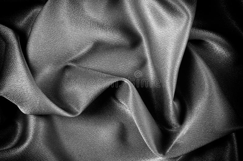 Texture, background. template. The school cloth is black, gray. Two continuous yards of Riley Blake Single Jersey Knit Solid Fabric royalty free stock image