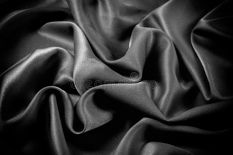 Texture, background. template. The school cloth is black, gray. Two continuous yards of Riley Blake Single Jersey Knit Solid Fabric royalty free stock photo