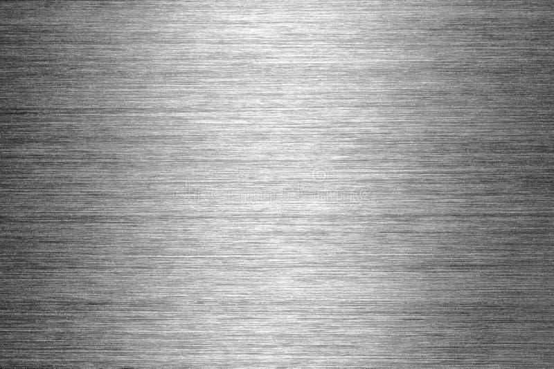 Texture balayée en métal image libre de droits