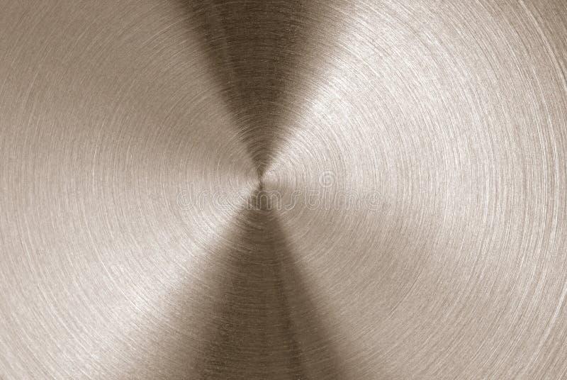 Texture balayée en métal