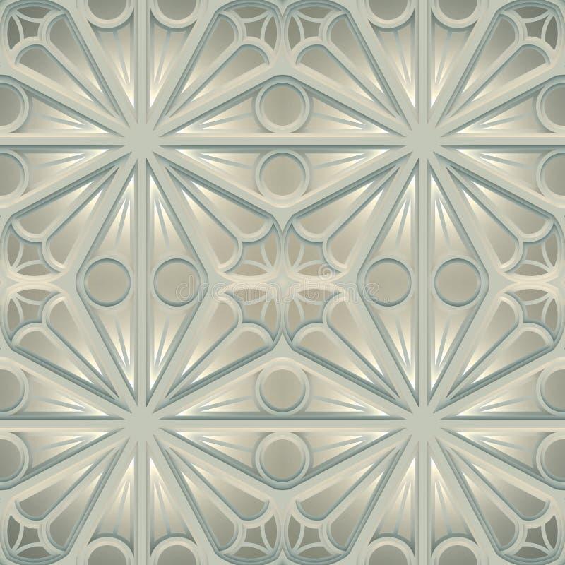 Texture basée sur la géométrie sacrée illustration de vecteur