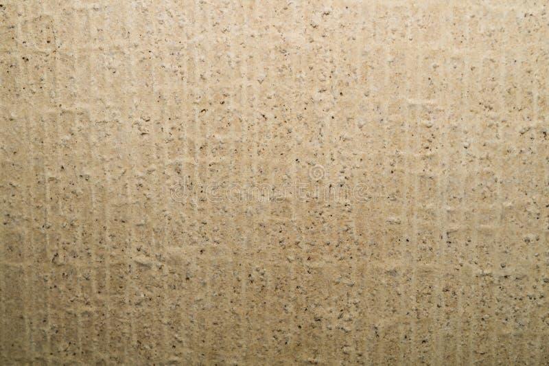 Texture beige approximative de mur Fond de mur en b?ton image libre de droits