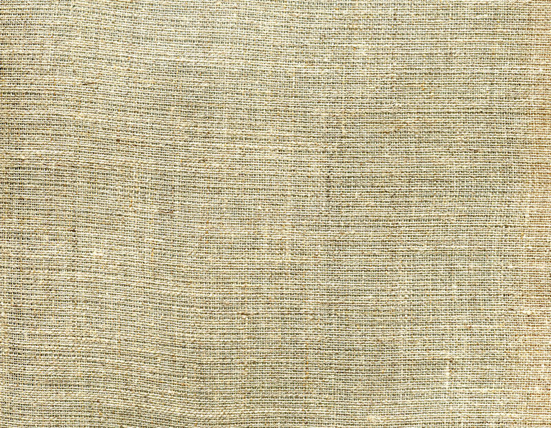 Texture beige canvas fabric. Natural textile background. stock photo