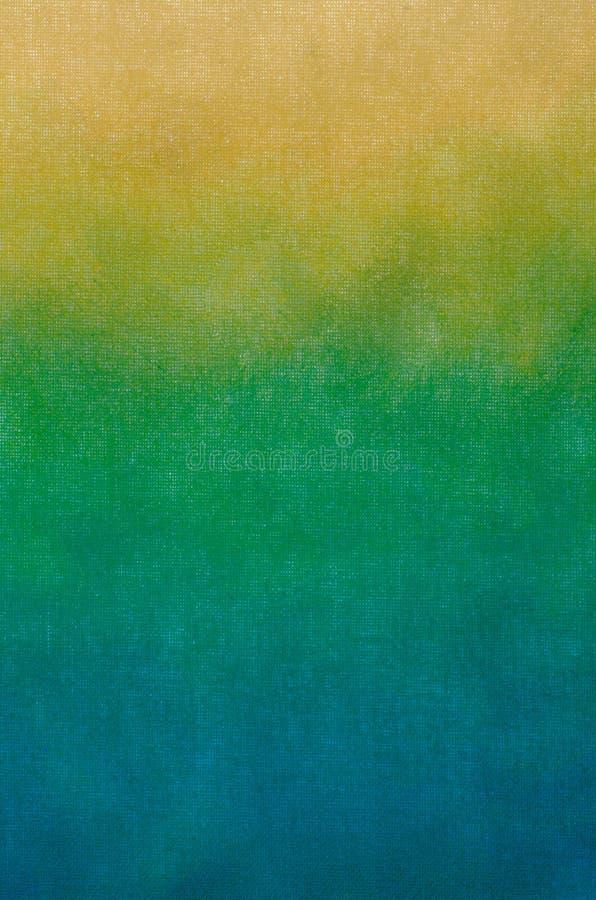 Texture beige d'abrégé sur art peinte sur le fond de toile d'art image libre de droits