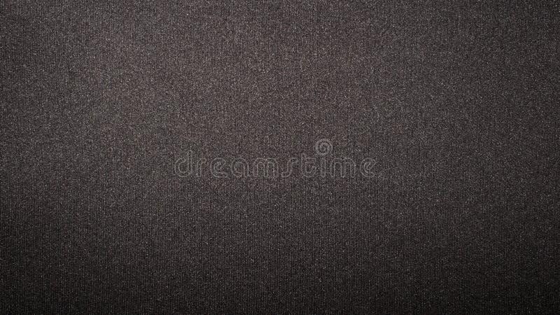 Texture of black dense fabric. royalty free stock photo