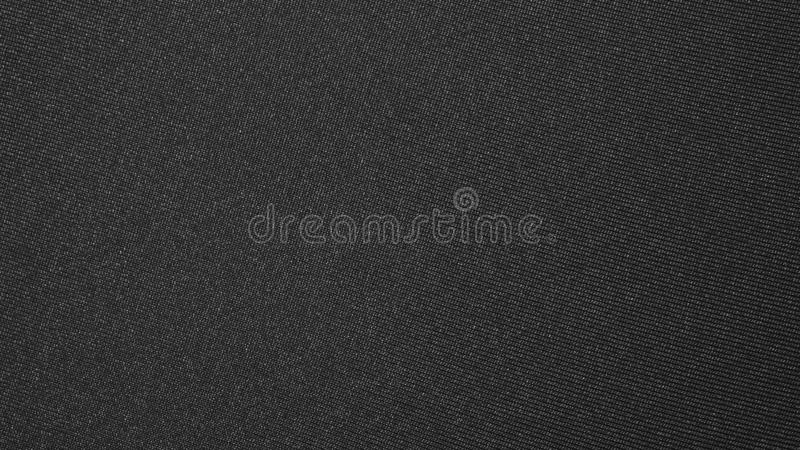 Texture of black dense fabric. royalty free stock images