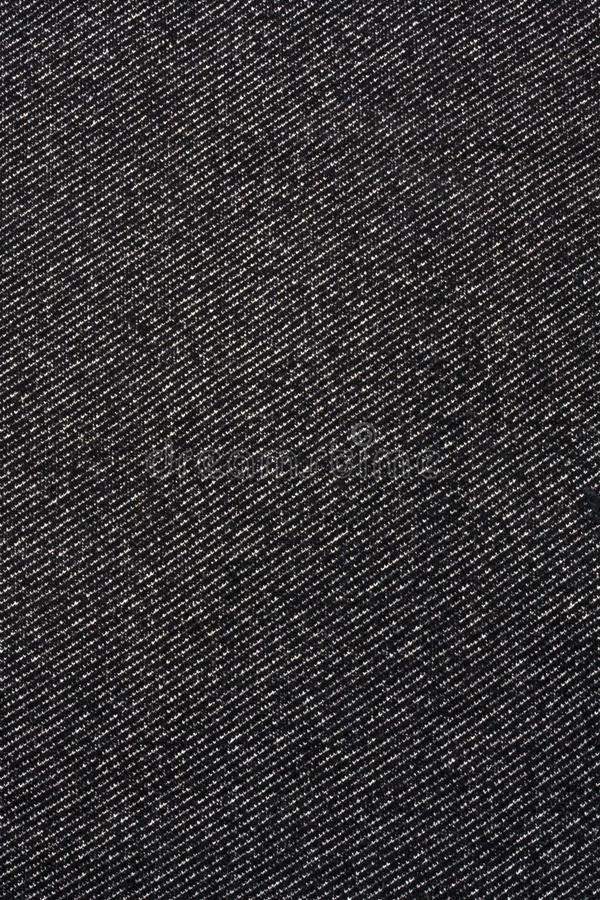 Download Texture Of Black Jeans Fabric Stock Photo - Image: 14652740