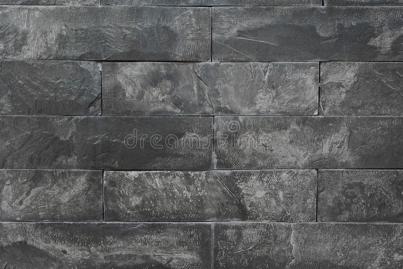 Texture of black marble wall royalty free stock images