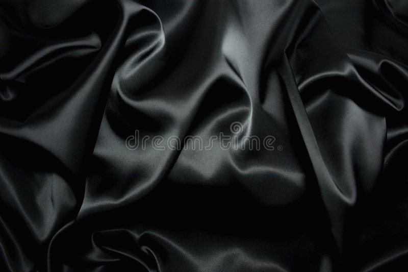 Texture of a black silk royalty free stock images
