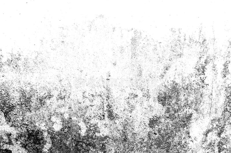 Texture black and white abstract grunge style. Vintage abstract texture of old surface. Pattern and texture of cracks, scratches. And chips stock illustration