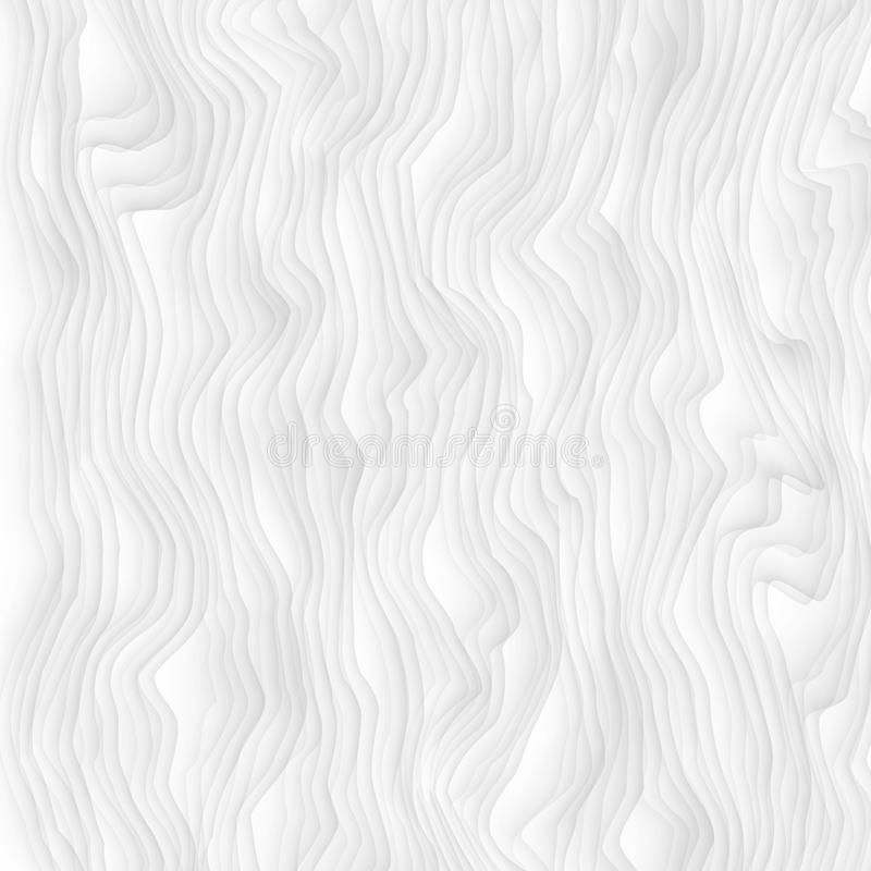 texture blanche Configuration abstraite sans joint geome onduleux de nature de vague illustration stock