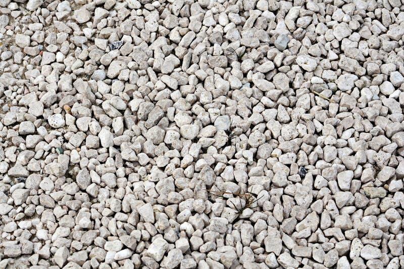 Texture blanche de cailloux photographie stock libre de droits