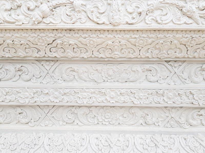 Texture blanche de fond de mur de temple d'architecture d'art photos libres de droits