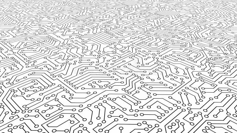 Texture blanche de modèle de carte Fond de pointe dans la fouille illustration stock