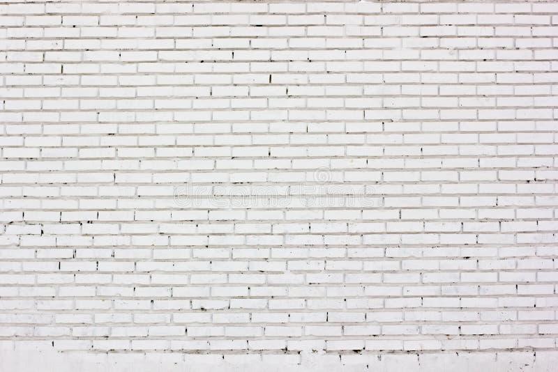 Texture blanche de mur de briques Fond urbain de ville photographie stock