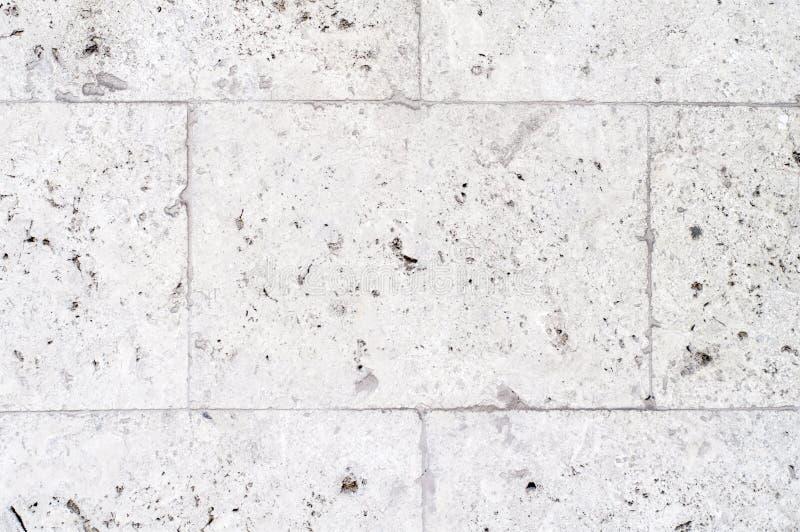 Texture blanche de mur de pierres images libres de droits