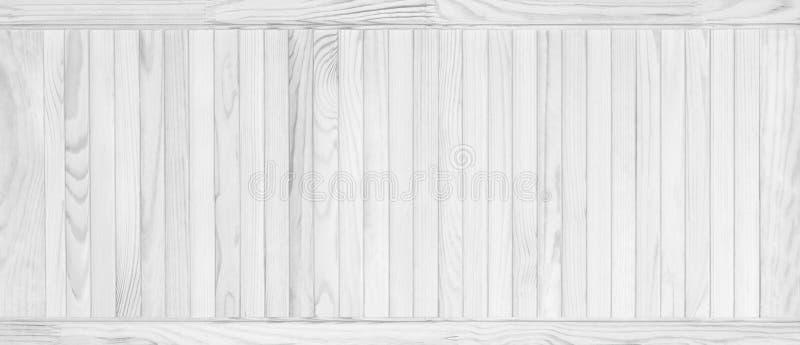 Texture en bois de blanc de planche de pin image stock