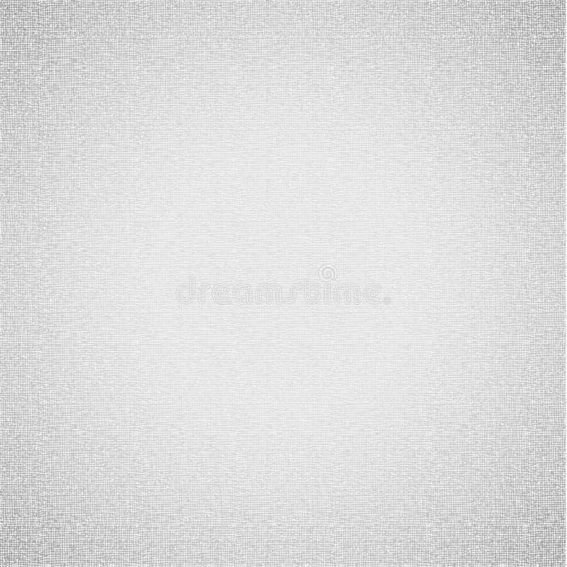 Texture blanche de toile, 10eps illustration libre de droits