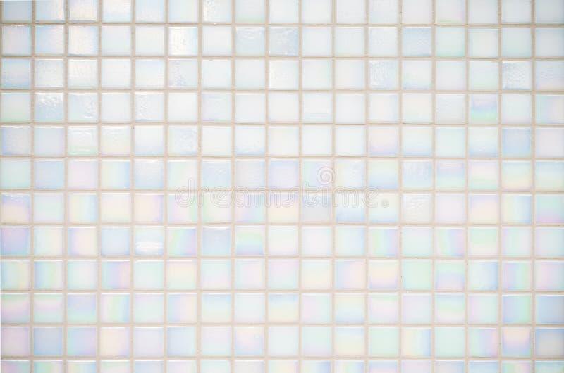 Texture blanche de tuiles image libre de droits