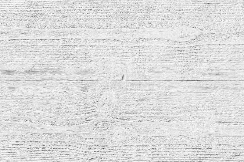 Texture blanche en bois sur le gypse image libre de droits