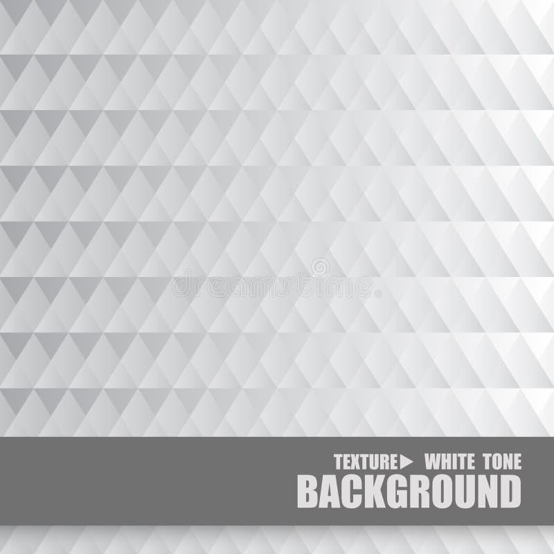 Texture blanche sans couture de fond de conception de modèle illustration de vecteur