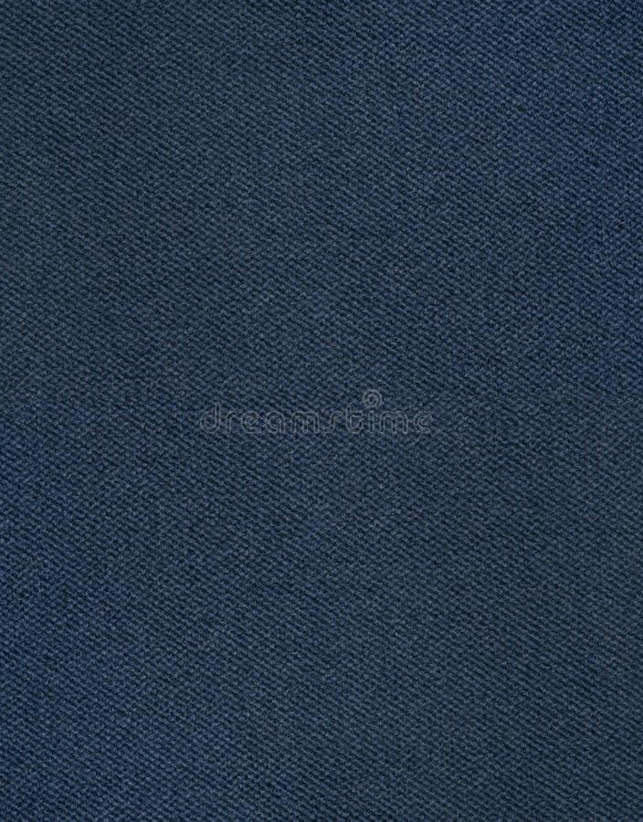 Texture bleu-foncé de fond de tissu photographie stock