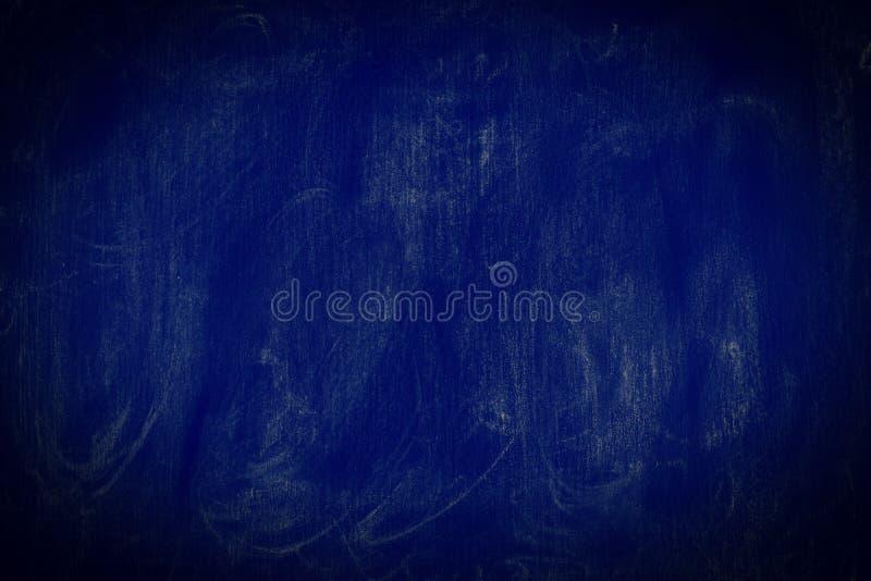 Texture bleu-foncé de tableau de fond - fond graphique photographie stock