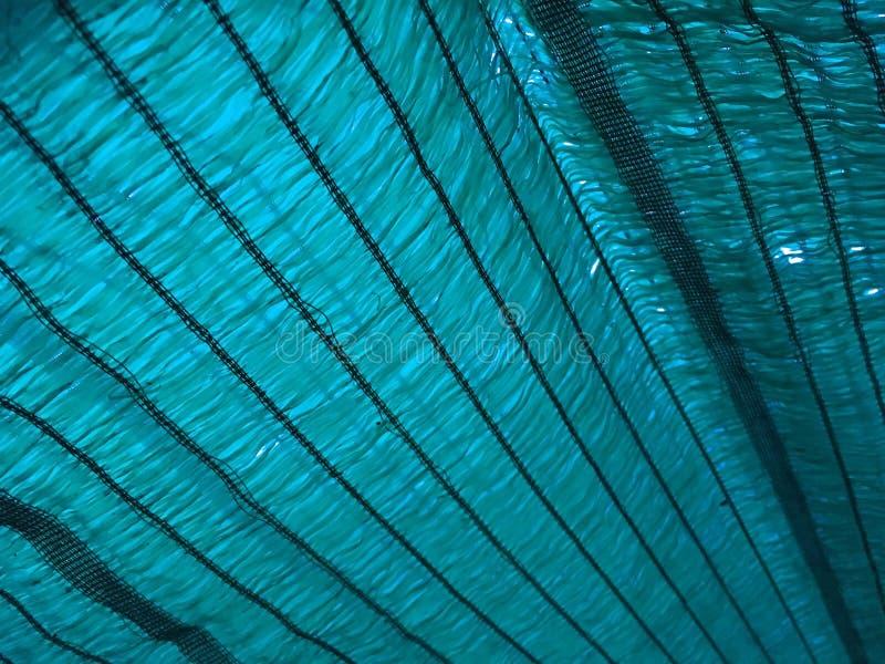 Texture bleue de filet d'ombrage images stock