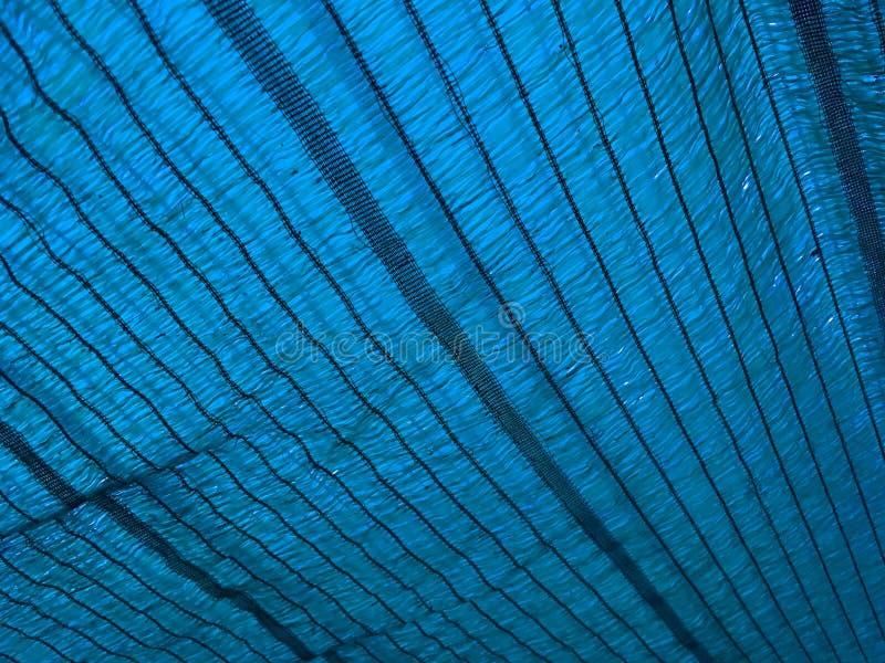 Texture bleue de filet d'ombrage photo libre de droits