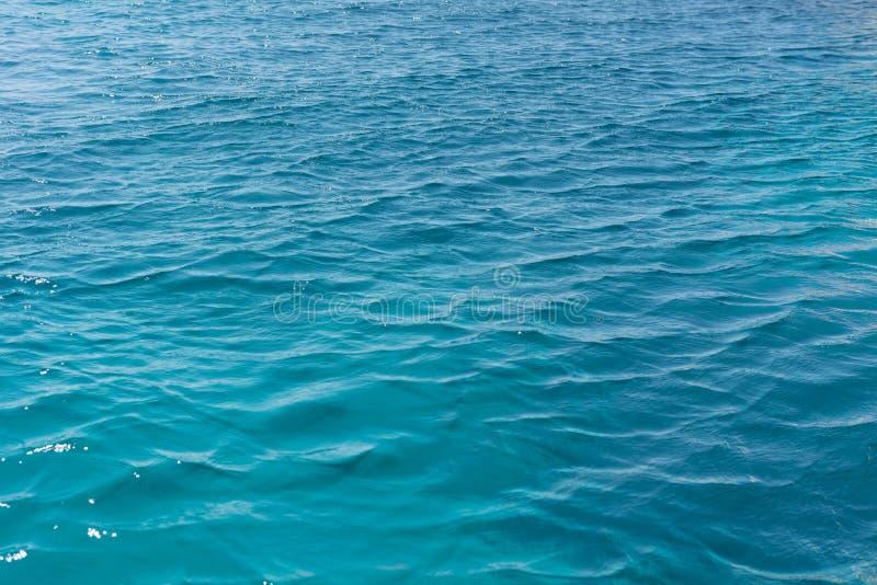 Texture bleue de l'eau images libres de droits