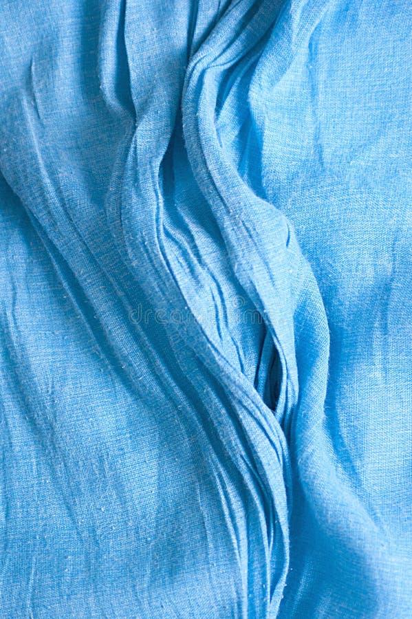 Texture bleue de tissu images libres de droits