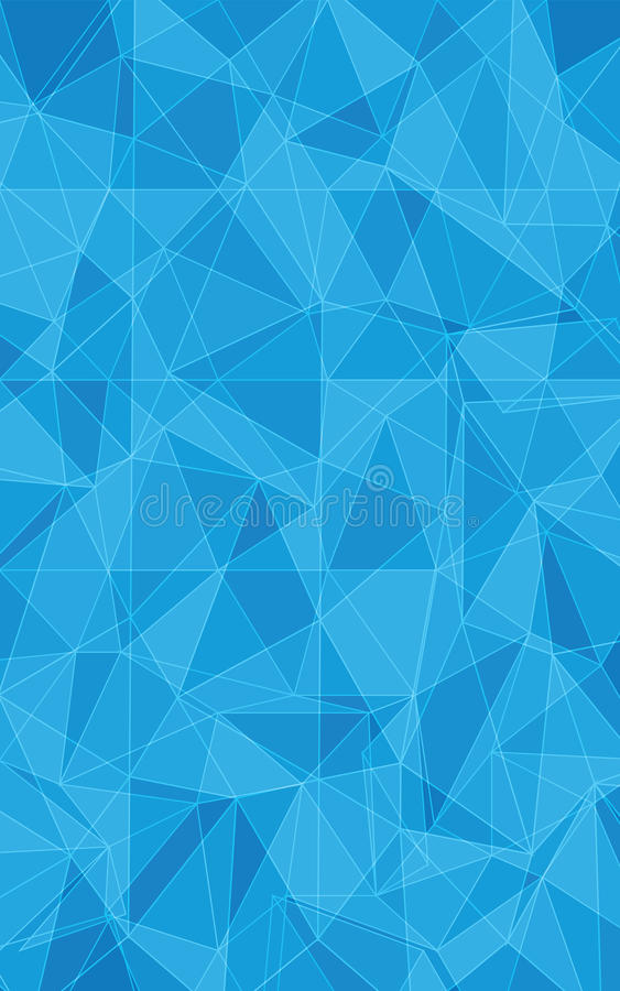 Texture bleue de triangle photographie stock libre de droits