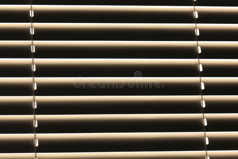 Texture blinds on the window stock photos
