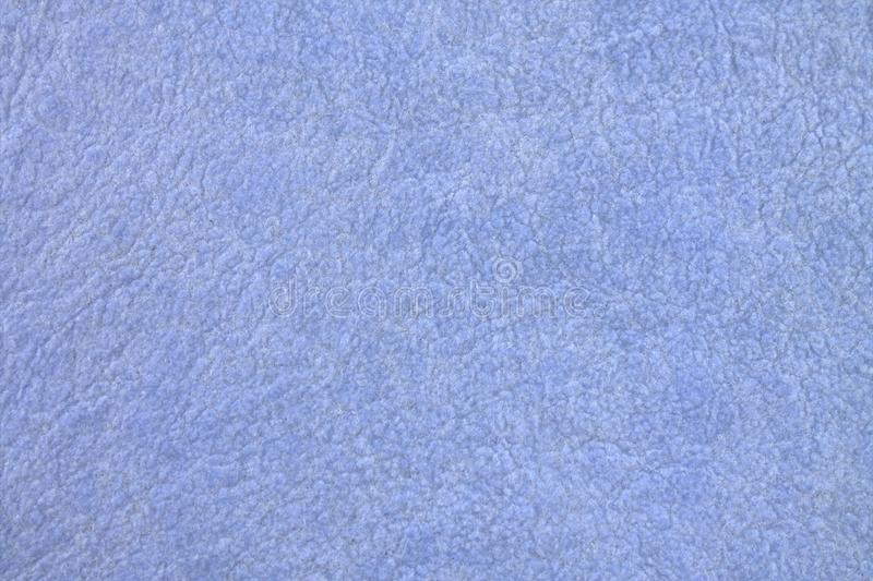 Texture of blue fabric blue soft material stock photography