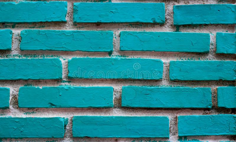 Texture of blue grunge brick wall white background stock photography