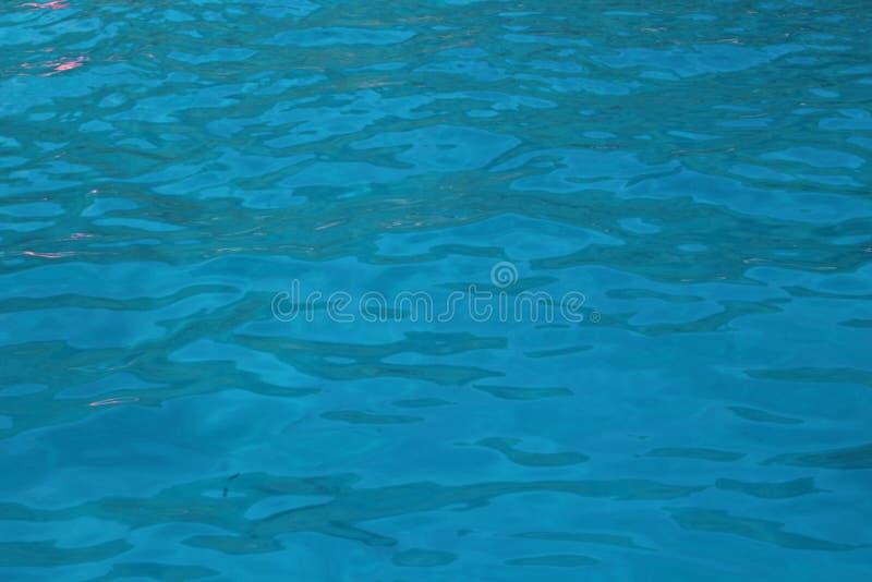 Texture blue sea water stock photos