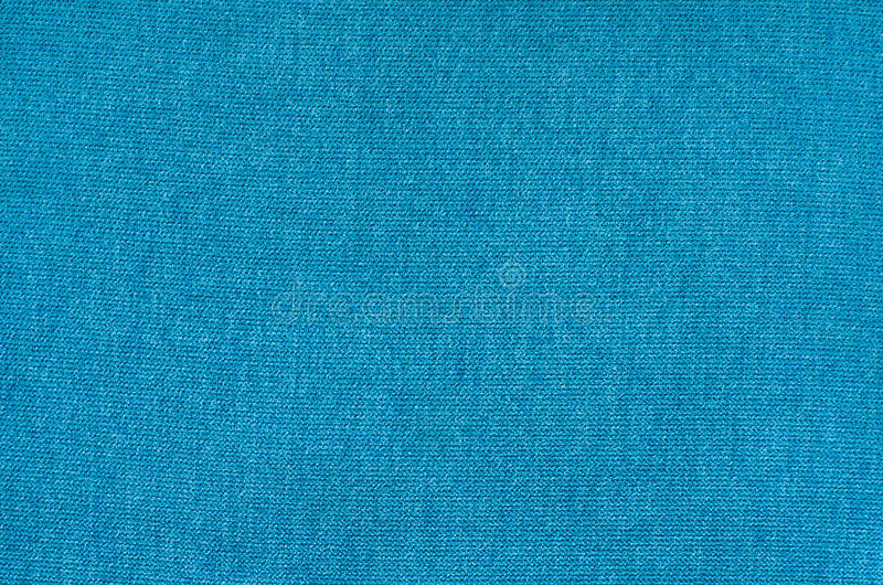 Texture of blue synthetic fabric. Pile background image. royalty free stock photos