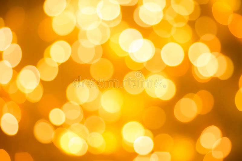 Texture of blurred background of Christmas lights. Texture of blurred background of golden Christmas lights.Christmas concept royalty free stock image
