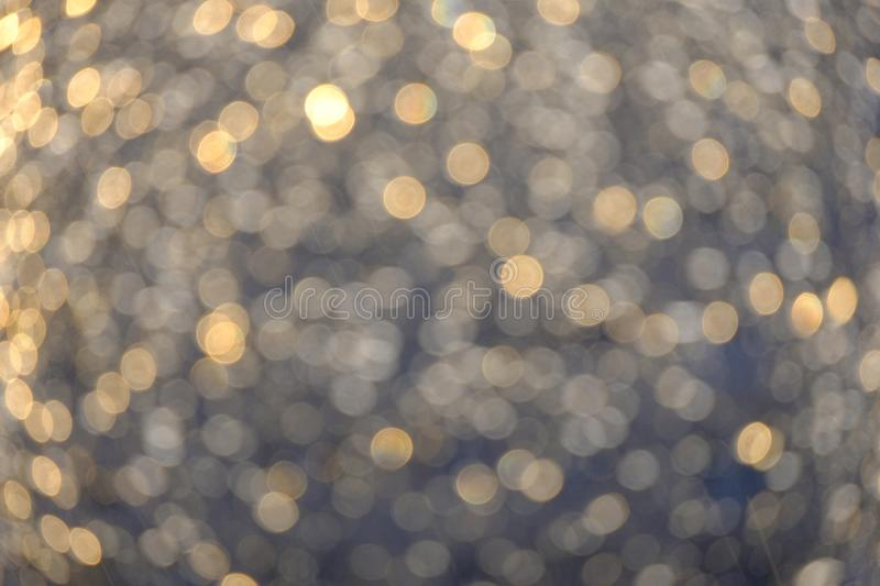 The texture of the blurred background after the rain, the glass in the window after the rain royalty free stock images