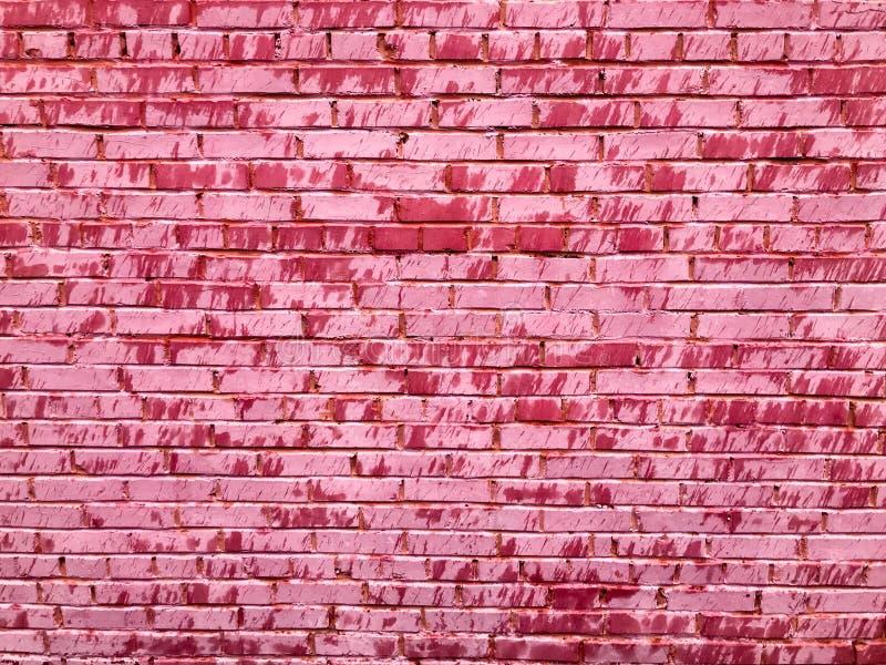 Texture Br criqué tendre de beau rose peu commun unique d'un vieux photos stock