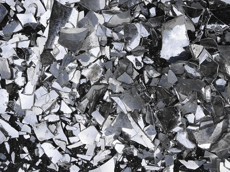 A texture of a broken glass stock images