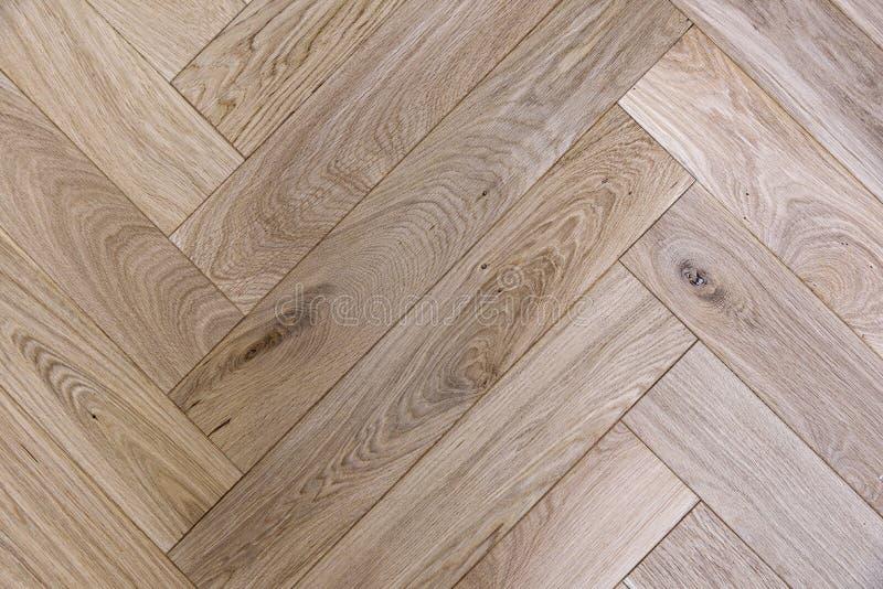 Texture of brown oak parquet stock photos