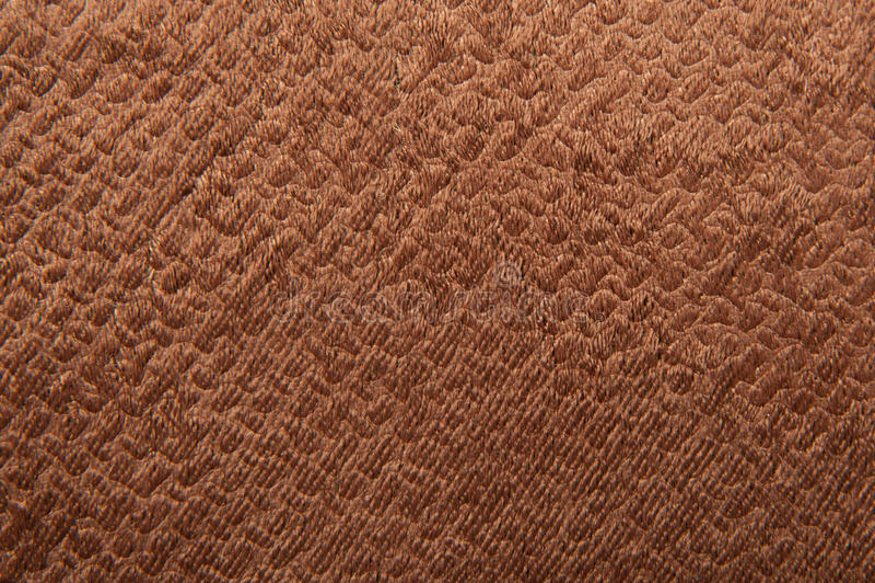Texture of brown velvet fabric stock photos