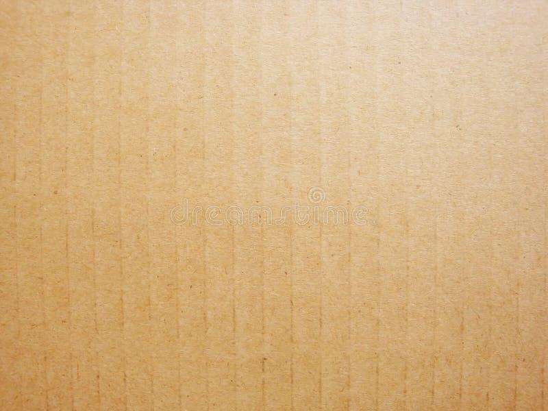 Texture brune âgée de carton image libre de droits