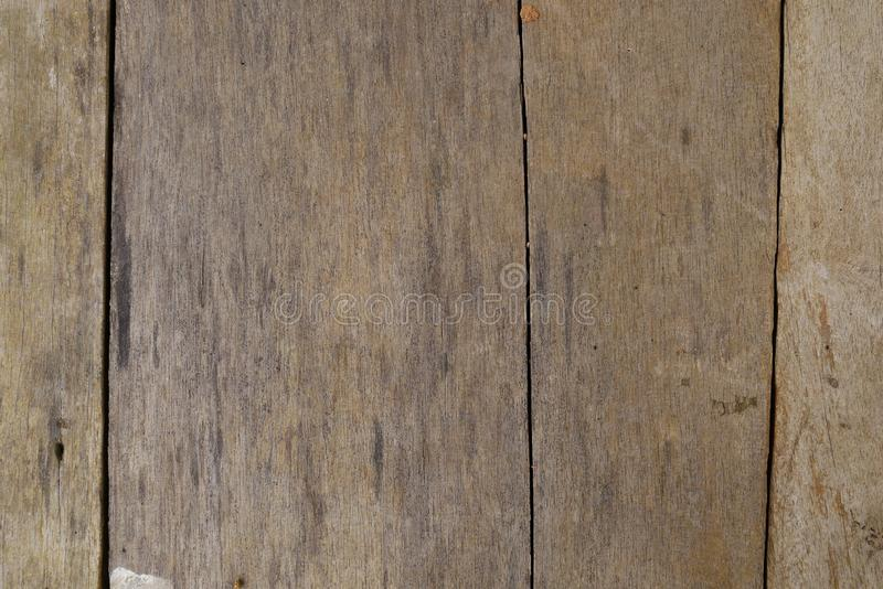 Texture brune en bois en bambou de grain, vue supérieure du fond en bois de mur de table en bois images libres de droits