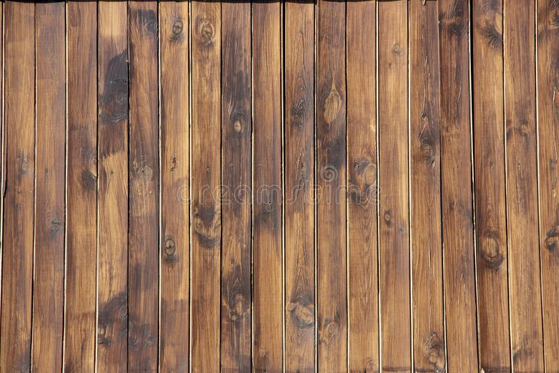 Texture brune en bois de grain, vue supérieure du fond en bois de mur de table en bois photo stock